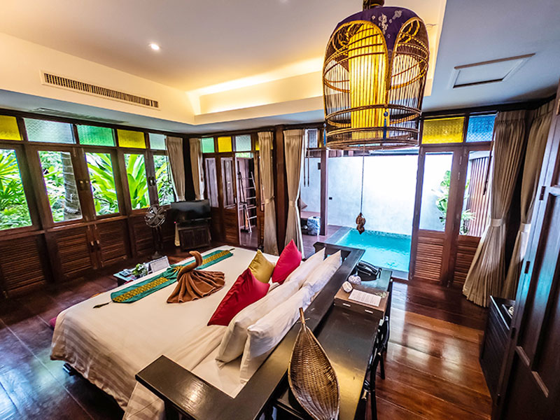 Garden Bungalow with private plunge pool